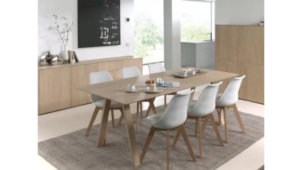 table extensible en chene massif 8 10 personnes epure delorm design