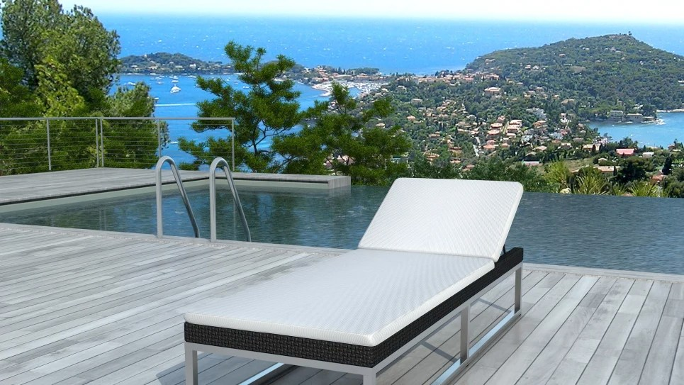 bain de soleil en resine tresse noire oaxaca delorm design