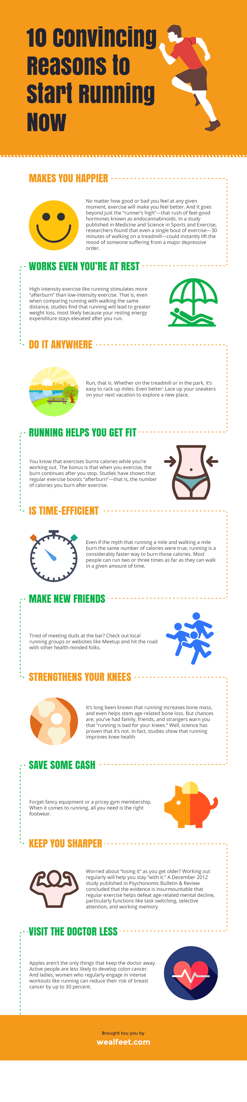 10 convincing reasons to start running now