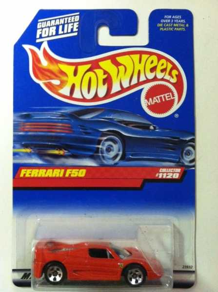 Hot Wheels Ferrari F50
