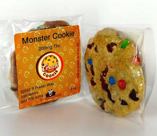 The Couch Monster Cookie 200mg THC Pure710
