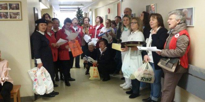 Γιάννενα: Επίσκεψη των Εθελοντών Νοσηλευτικής του Π.Τ. Ιωαννίνων του ΕΕΣ στα δύο Νοσοκομεία της πόλης των Ιωαννίνων.