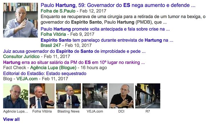 Google Search Fact Check in Brazil