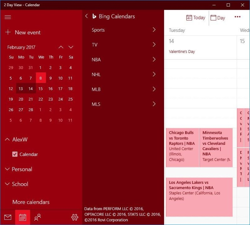 Ineresting Calendars
