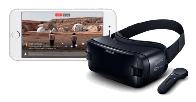 Live 360 broadcasts in 4K in VR