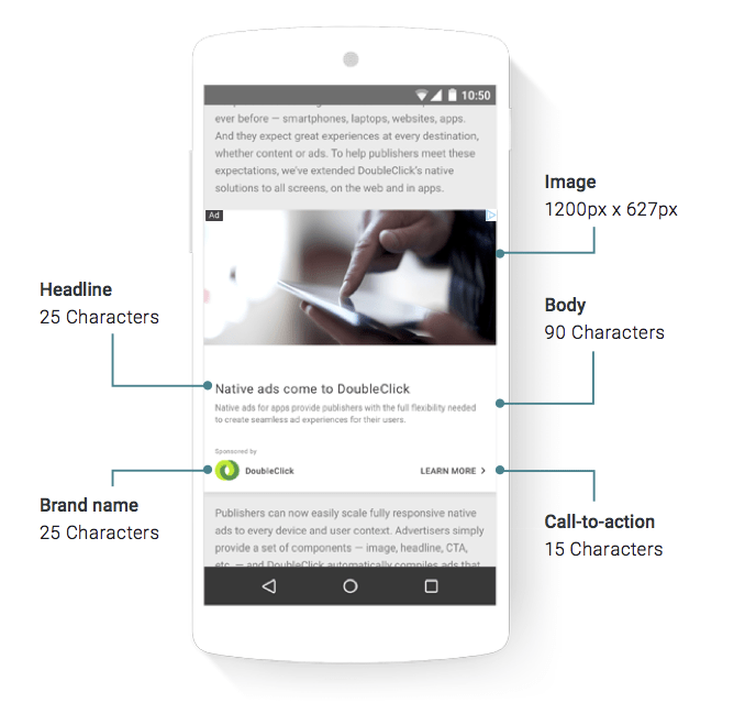 doubleclick native ads