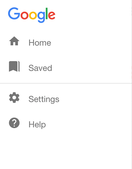New Google Mobile Save function