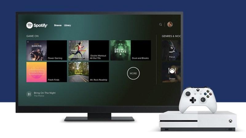 Spotify on Xbox One