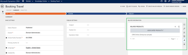 portal capabilities for microsoft dynamics 365 new product filtering