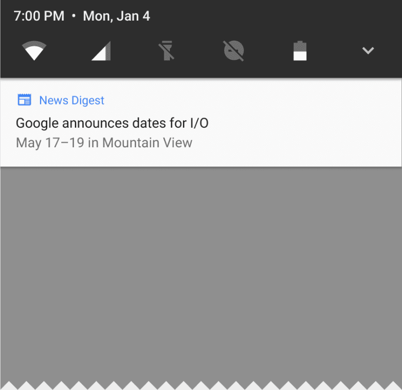 Android O Notification channels