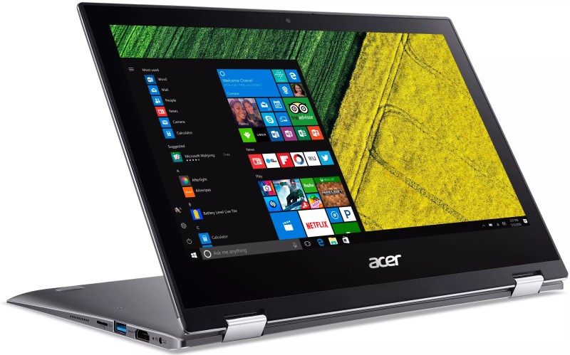 Acer Spin 1 Windows 10 Convertible
