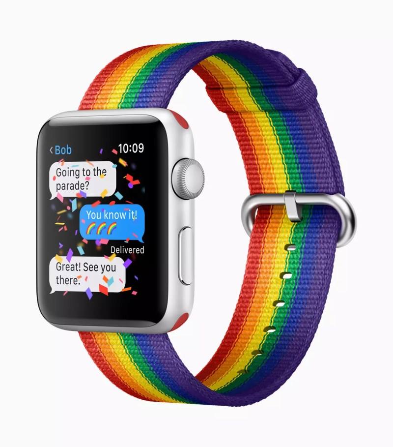 Pride Edition Woven Nylon Apple Watch Band