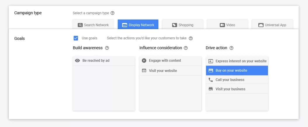 New AdWords Campaign Creation