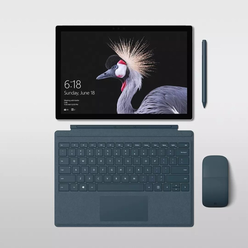 surface pro and surface pro signature type cover