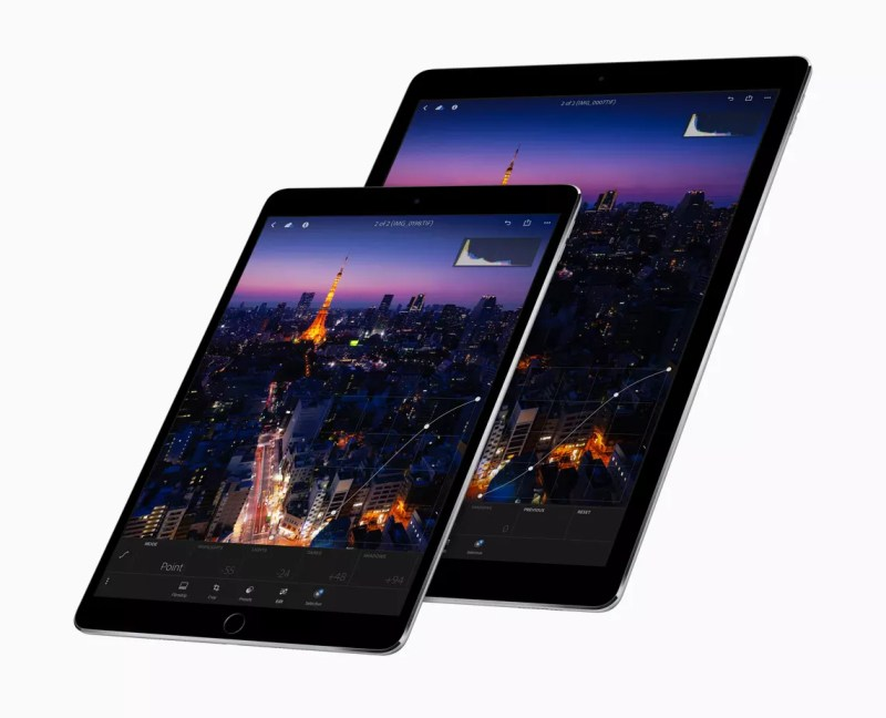 10.5-inch and 12.9-inch iPad Pro