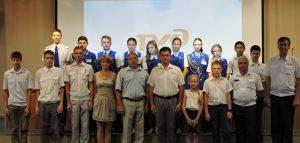 юные железнодорожники Донецкой Детской железной дороги с визитом на Приволжской детской железной дороги