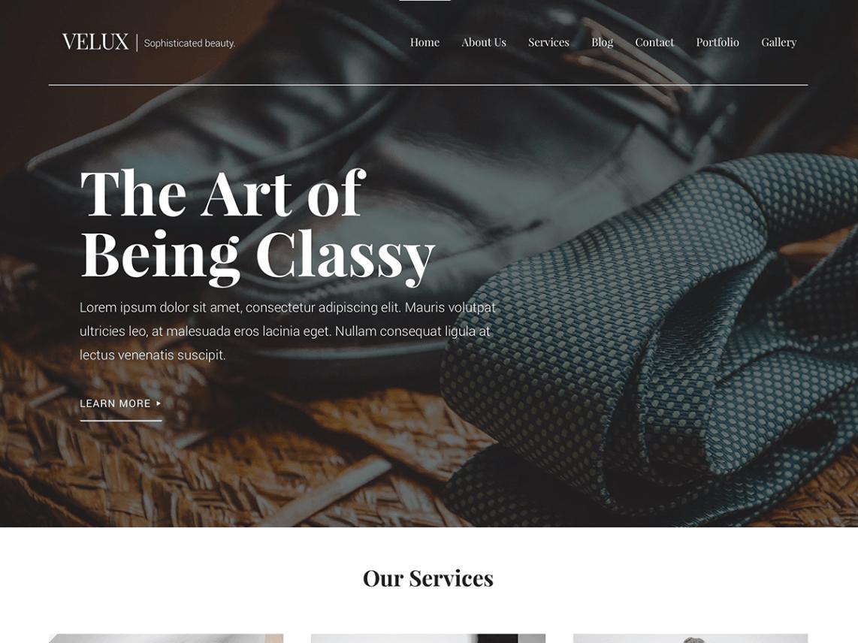 Velux WordPress Theme