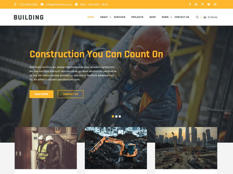 Building Lite WordPress Theme
