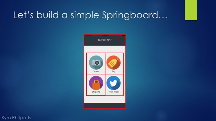 Common UI Patterns in Xamarin Forms Part 1 – Springboards