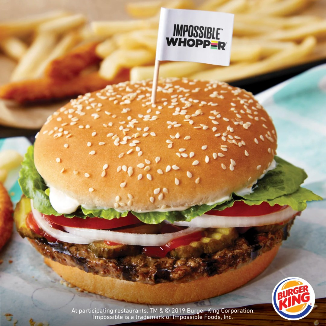 Image result for impossible whopper