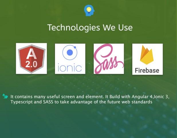 Ionic 3 Restaurant app with Firebase - 5