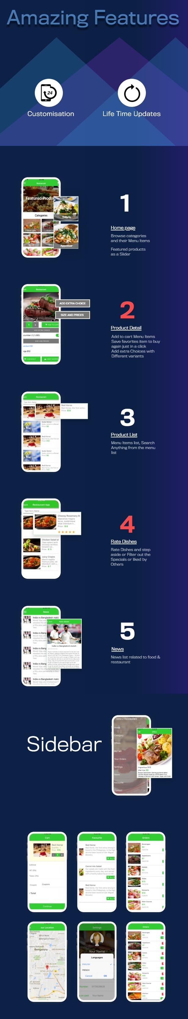 Ionic 3 Restaurant app with Firebase - 4