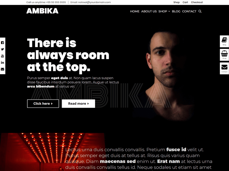 AMBIKA WPKoi WordPress Theme