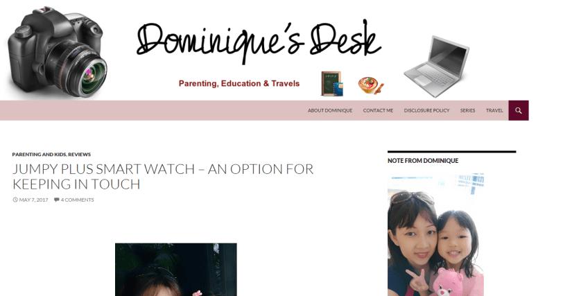 Dominique's Desk