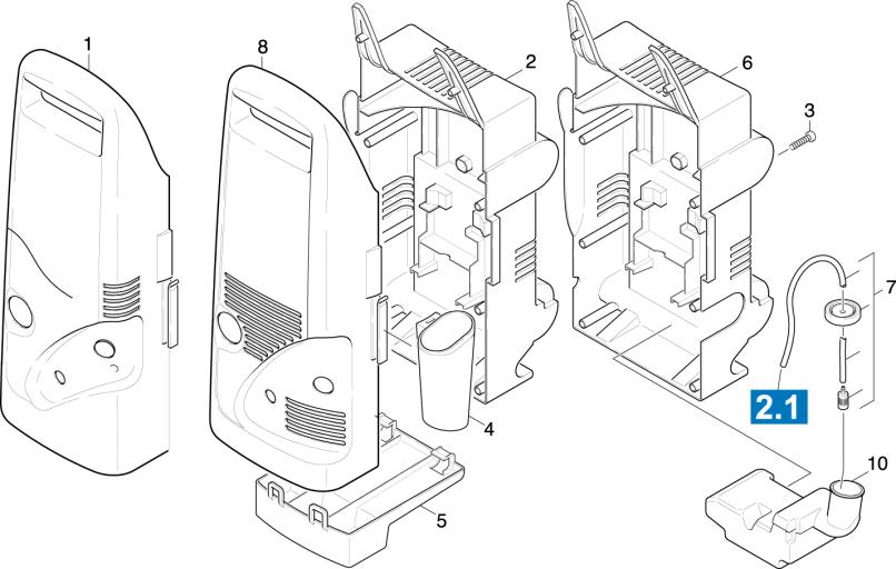 Karcher K2 Pressure Washer Parts Diagram | Jidimotor co