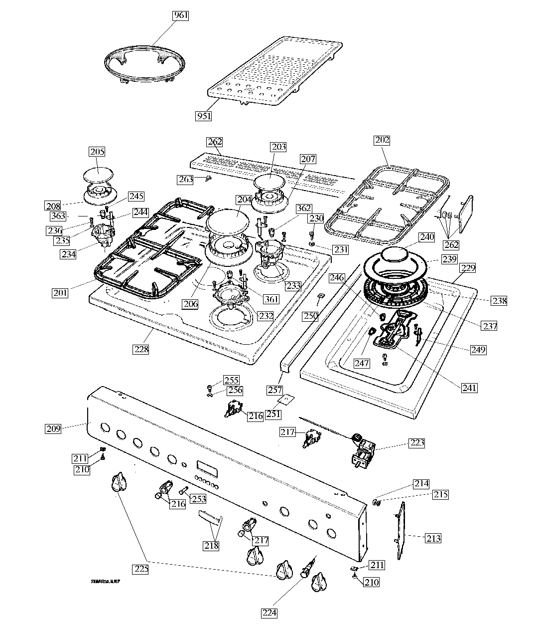 Rangemaster Spare Parts Toledo 90