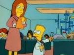 Bart backs into the gifted program, where he doesn't fit in