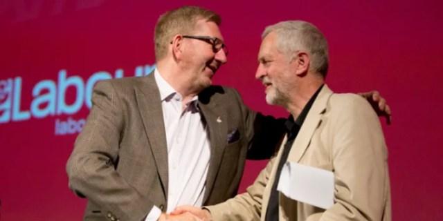Labour Brexit splits erupt as Len McCluskey urges MPs to stop pressuring Jeremy  Corbyn over second referendum