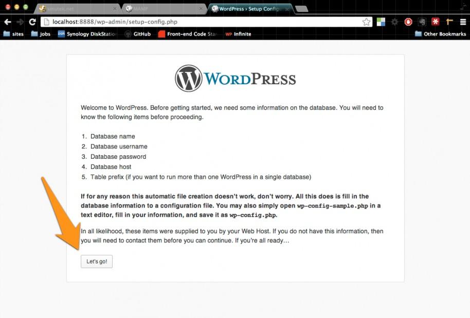 Local WordPress with MAMP! | smutek net