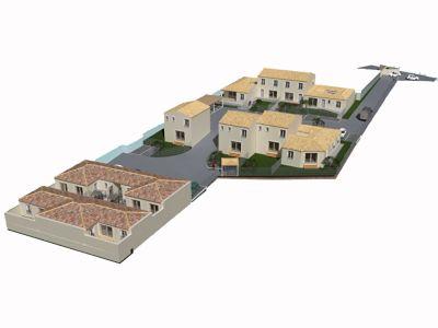 maisons aux les angles gard