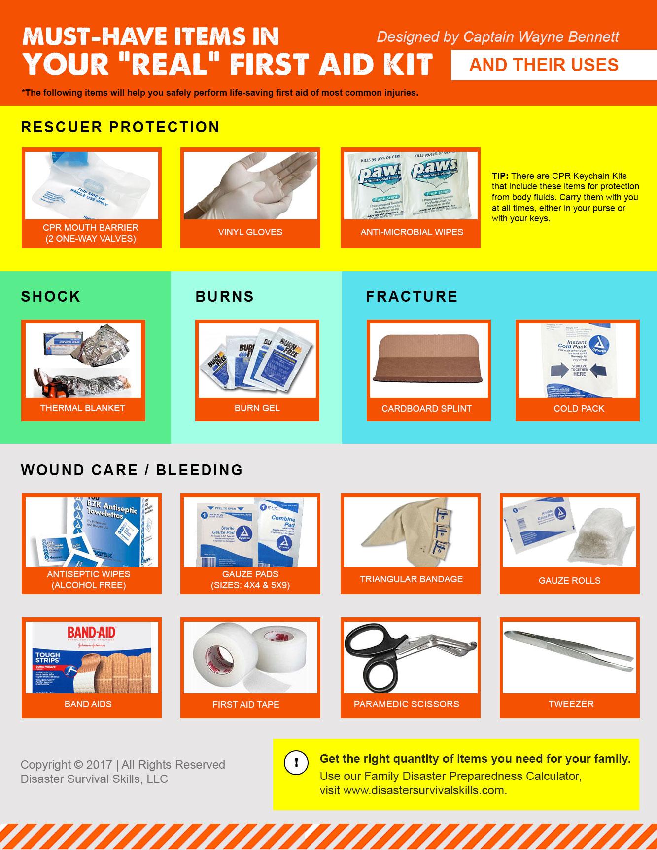 Survival Kit List For School