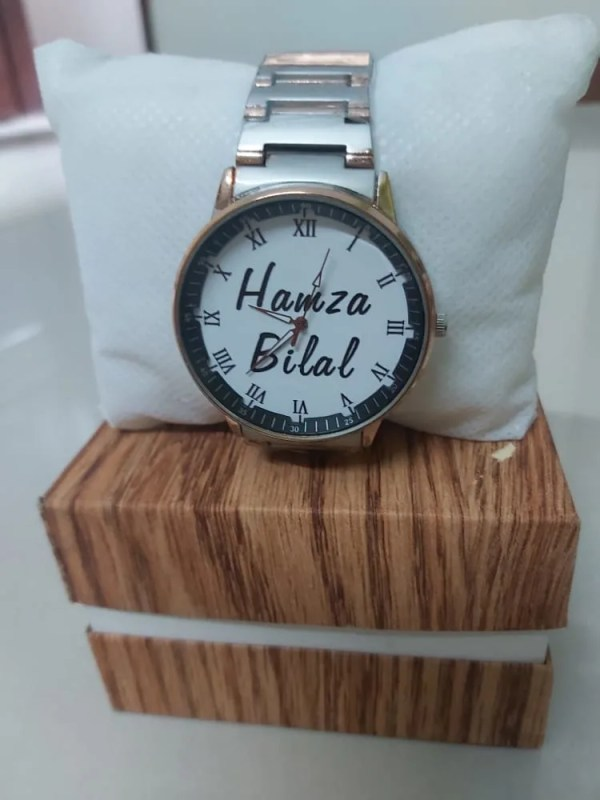 Name Customize Chain Watches for Males