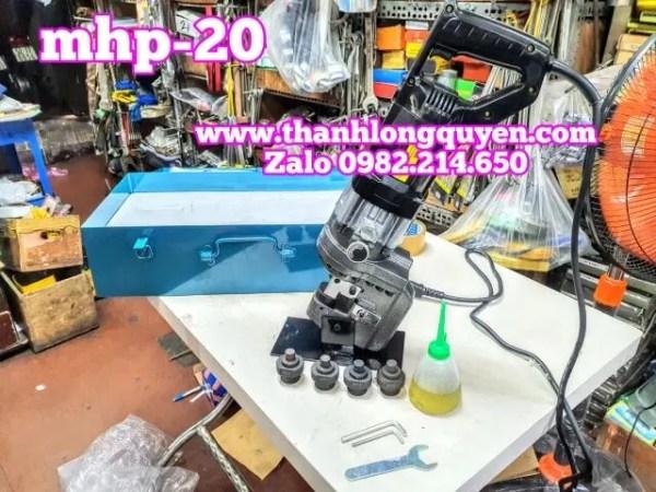 Máy đột lỗ thép thủy lực mhp-20 đường kính 6.5mm-20.5mm