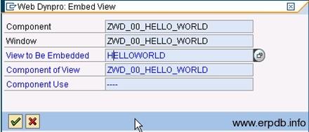 Creating Webdynpro App5