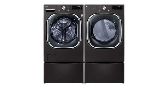 LG thinq Washer and Dryer