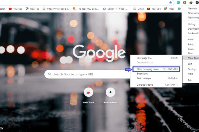 clear-cache-in-google-chrome