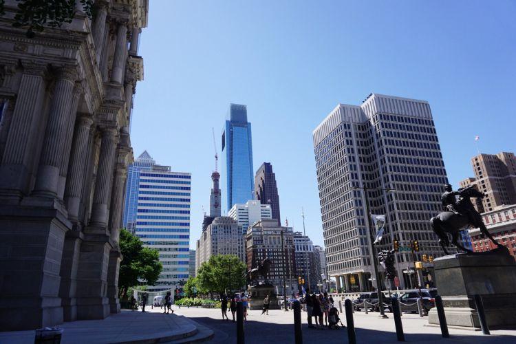 Downtown Philadelphia photography