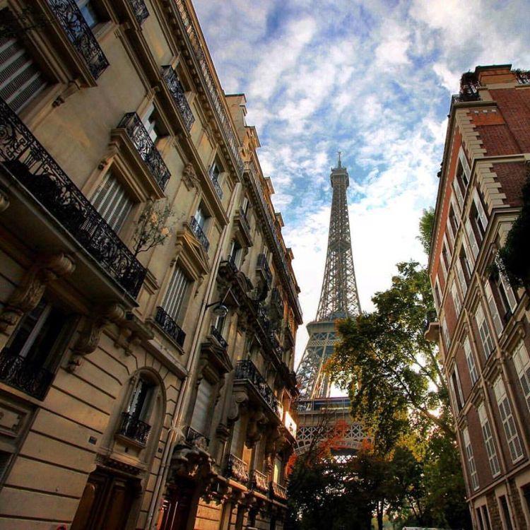 Golden Hour in Paris