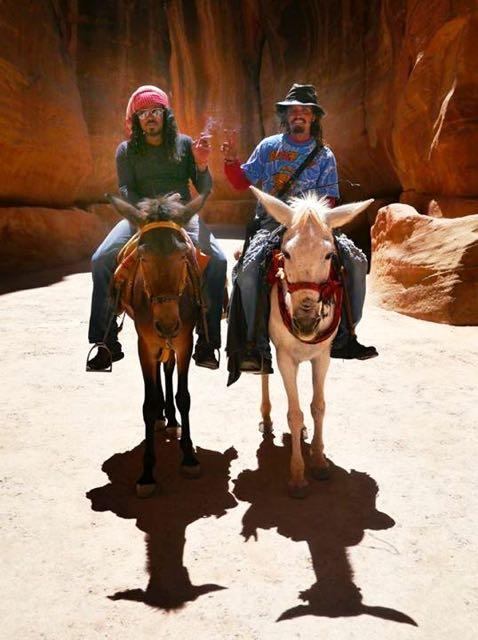 Bedouins in Petra, Jordan