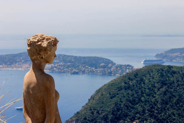 View from Le Jardin Exotique, Eze