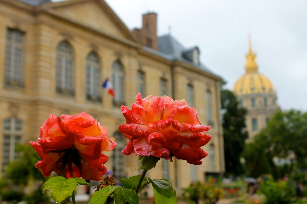 Musee Rodin gardens, Paris