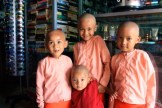 Small monks in Burma