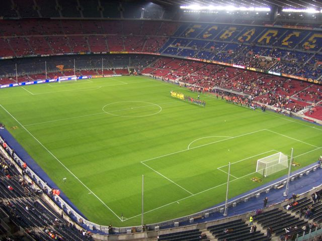 FC Barcelona stadium, Spain