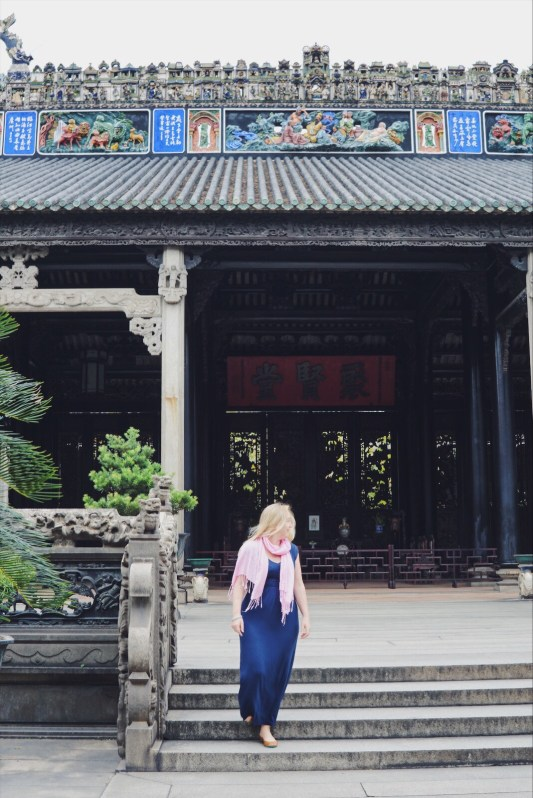 travel for personal development - china