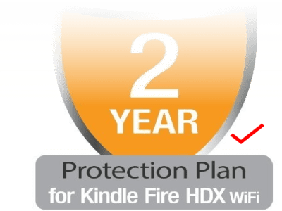 SquareTrade Kindle Fire HDX Wi-Fi 2-Year Protection Plan plus Accident Coverage
