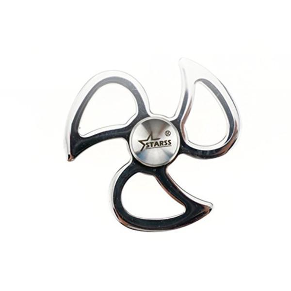 Starss Fidget Spinner Solid Stainless Steel High-end Hand